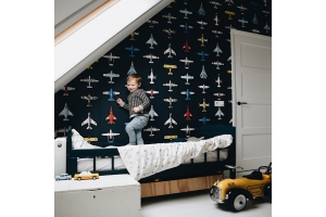 Boysroom with airplanes