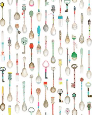 Teaspoons wallpaper