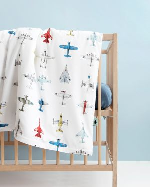 Airplanes duvet cover 100 x 135 cm