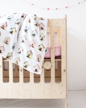 Birdhouse duvet cover 100 x 135 cm