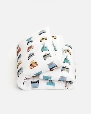 Work vehicles duvet cover 120 x 150 cm