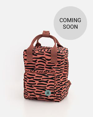 Tiger stripes backpack - small