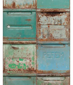 Container wallpaper mixed