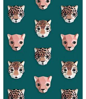 Panthera wallpaper green