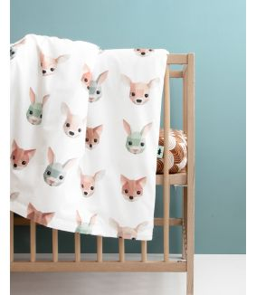 Forest animals duvet cover 100 x 135 cm