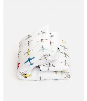 Airplanes duvet cover 120 x 150 cm
