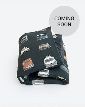 Cars duvet cover dark 120 x 150 cm