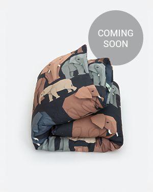 Elephant duvet cover 140 x 200 cm