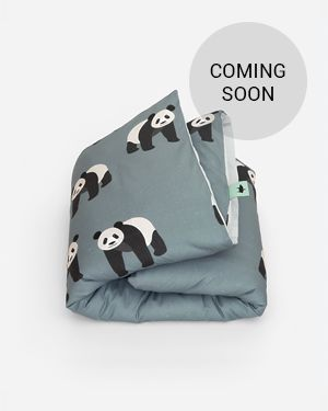 Panda duvet cover 140 x 200 cm
