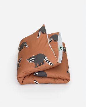 Raccoon duvet cover 140 x 200 cm