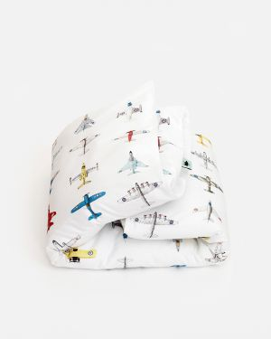 Airplanes duvet cover 140 x 200 cm