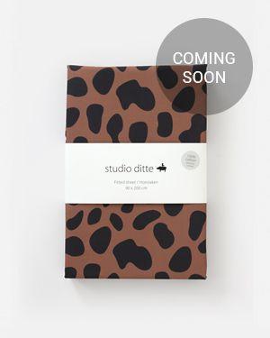 Fitted sheet jaguar spots 90 x 200 cm