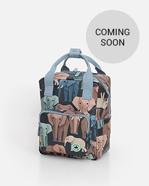 Elephant backpack - small