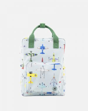 Airplanes backpack - large