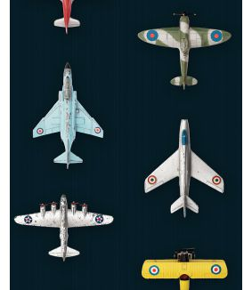 Airplanes wallpaper dark