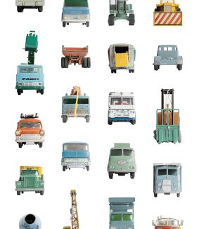 Work vehicles wallpaper