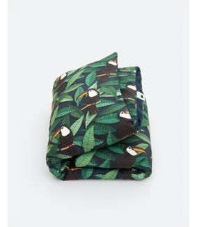 Toucan duvet cover - 1 person
