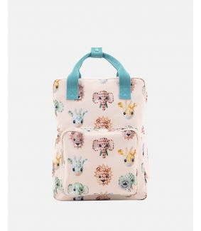 Wild animals backpack - large