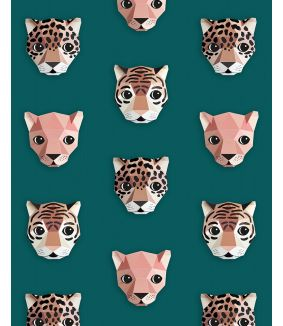 Panthera wallpaper green