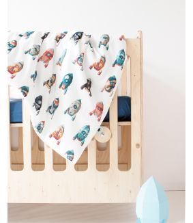Rocket duvet cover 100 x 135 cm