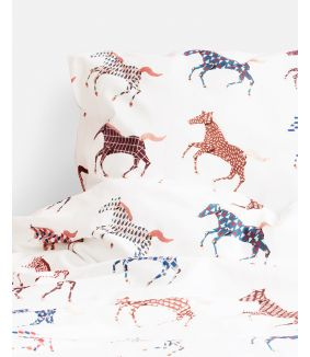 Horses duvet cover - 1 person