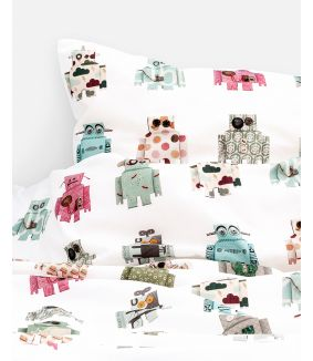 Robot duvet cover - 1 person