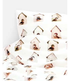 Birdhouse duvet cover - 1 person