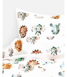 Wild animals duvet cover cool 120 x 150 cm