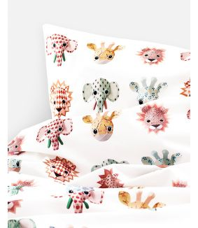 Wild animals duvet cover sweet 120 x 150 cm