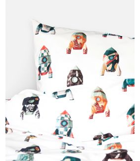 Rocket duvet cover - 1 person