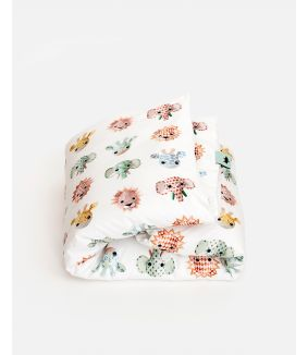 Wild animals duvet cover sweet 140 x 200 cm