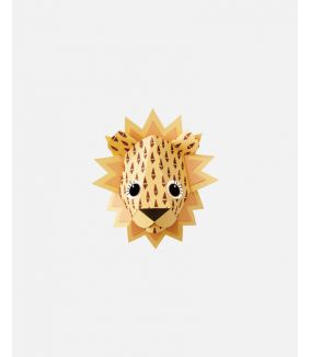 Lion wall sticker cones - small