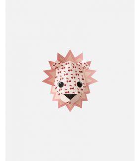 Lion wall sticker cherries - small
