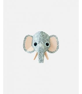 Elephant wall sticker spots - small