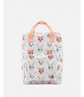 Forest animals backpack - large