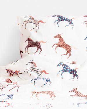 Horses duvet cover - 120 x 150 cm