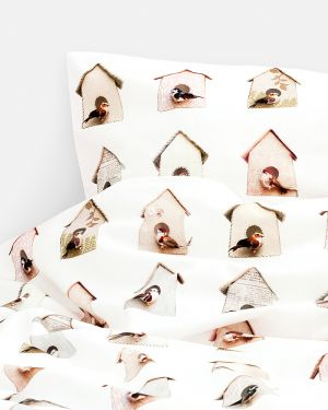 Birdhouse duvet cover 120 x 150 cm