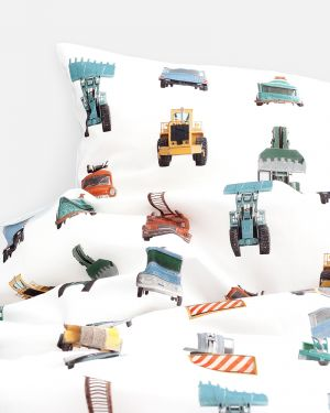 Work vehicles duvet cover - 1 person