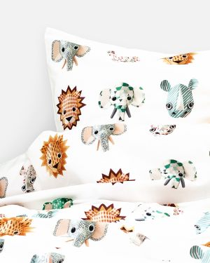 Wild animals duvet cover cool - 1 person