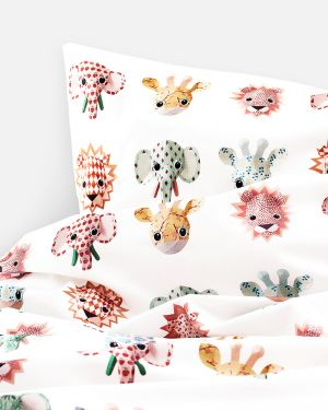 Wild animals duvet cover sweet - 1 person