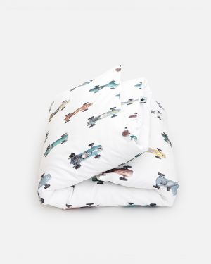 Race car duvet cover 140 x 200 cm