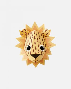 Lion wall sticker cones - large