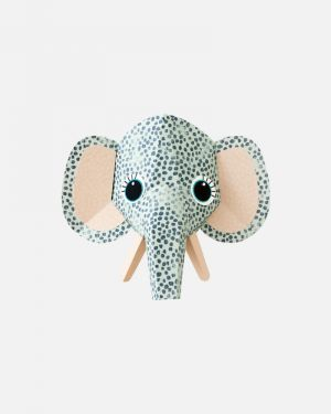 Elephant wall sticker spots - large