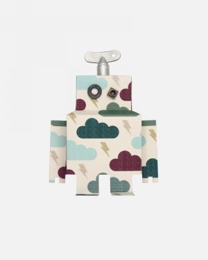 Robot wall sticker thundercloud - large