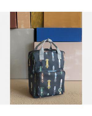 Race car backpack - large