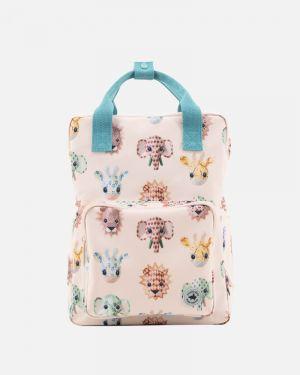 Wild animals backpack - large