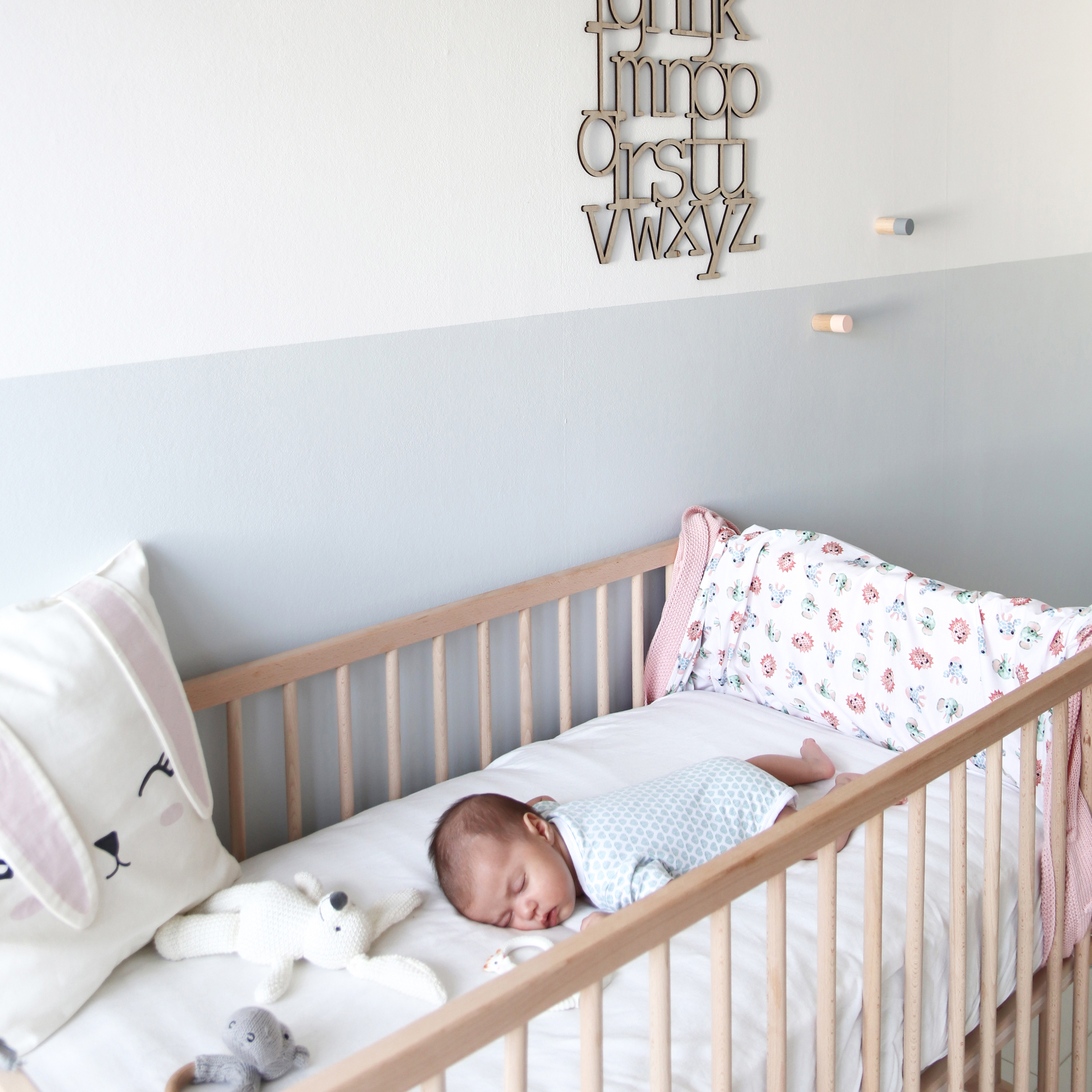 Baby room and toddler room