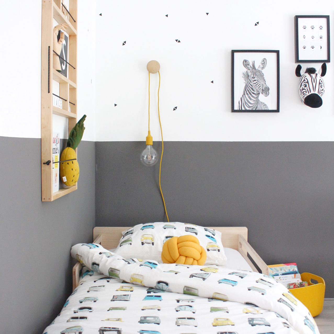 Cool Scandinavian nursery