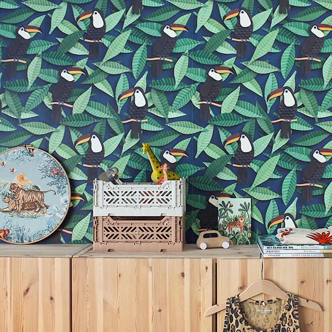 Colour advice for toucan wallpaper
